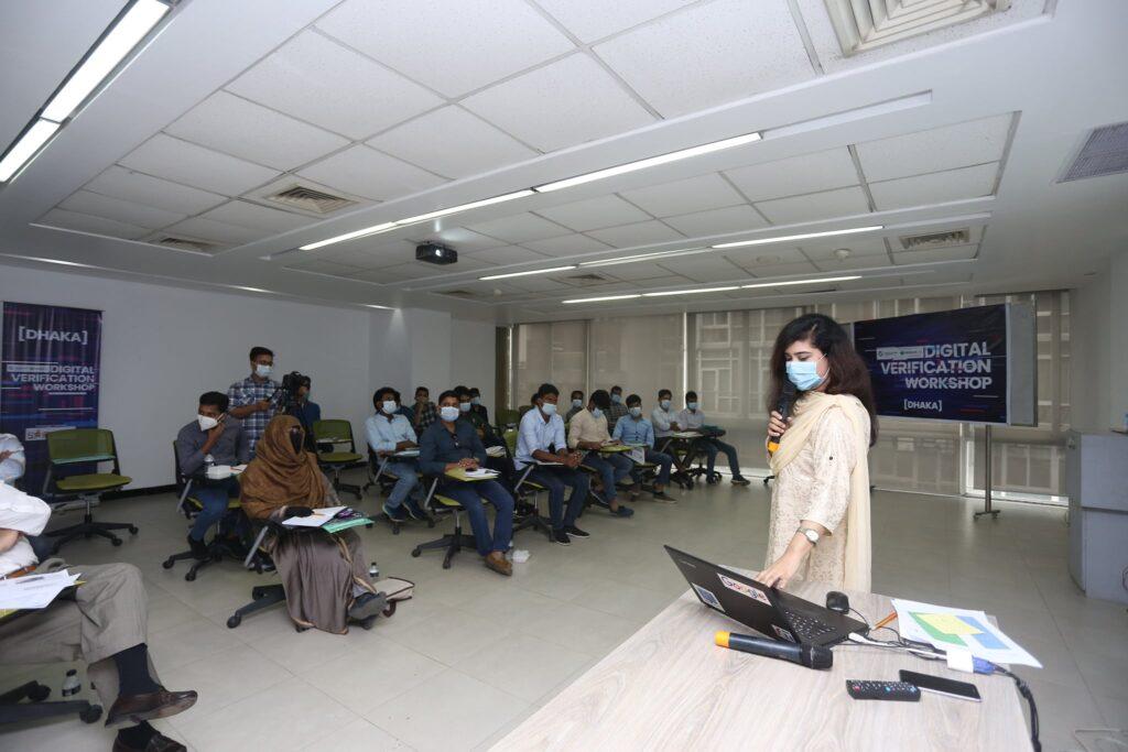 Series of Digital Verification Workshop for Journalists!